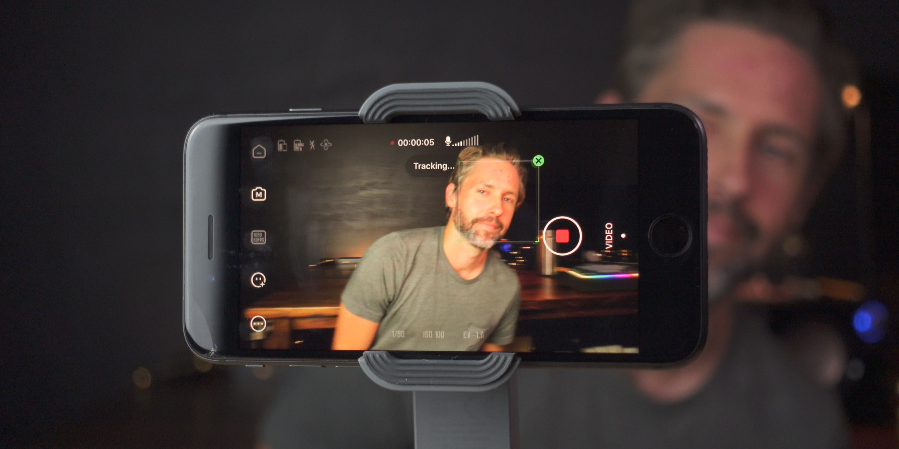 Gesture tracking from the ZY Cami app and Smooth-X Gimbal