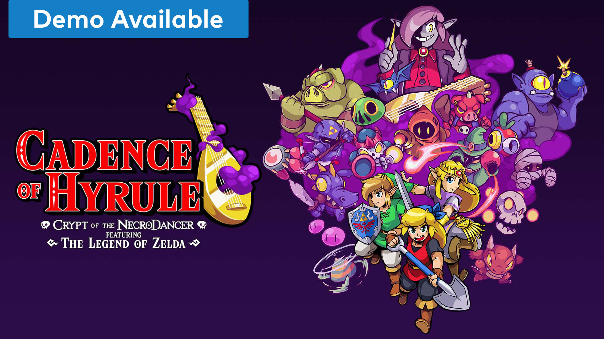mini Nintendo Direct - Cadence of Hyrule