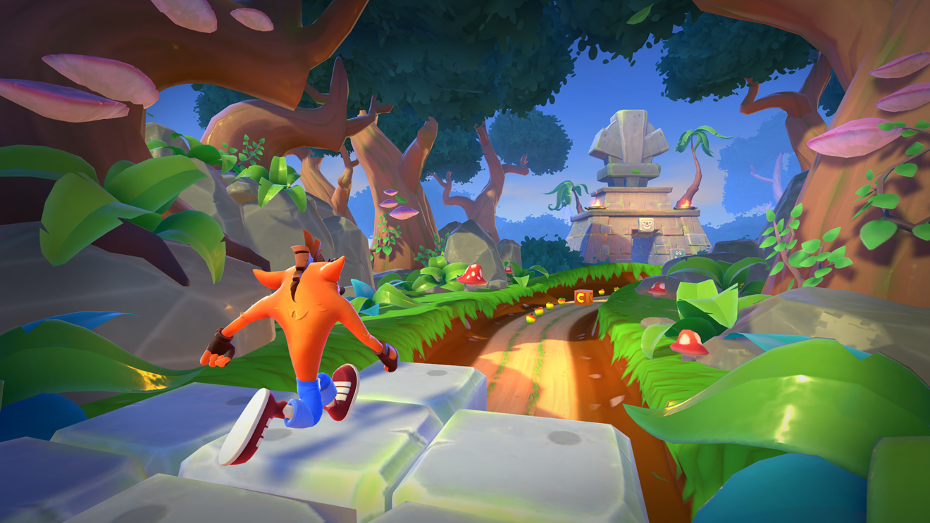 new Crash Bandicoot mobile game