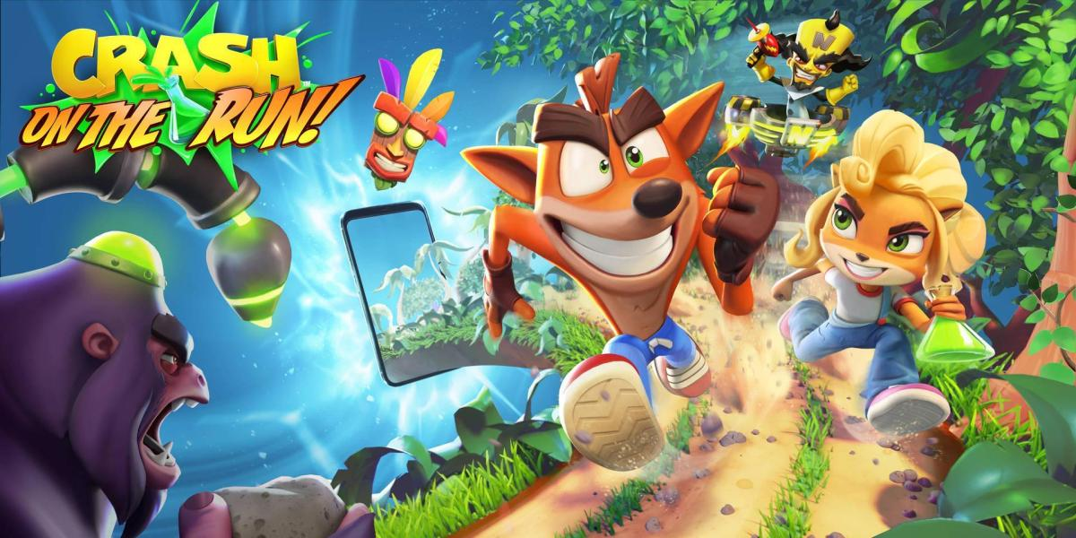 New Crash Bandicoot mobile game - On the Run