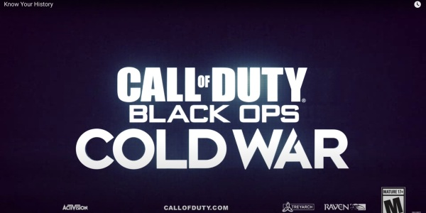 Black Ops Cold War Call of Duty 2020