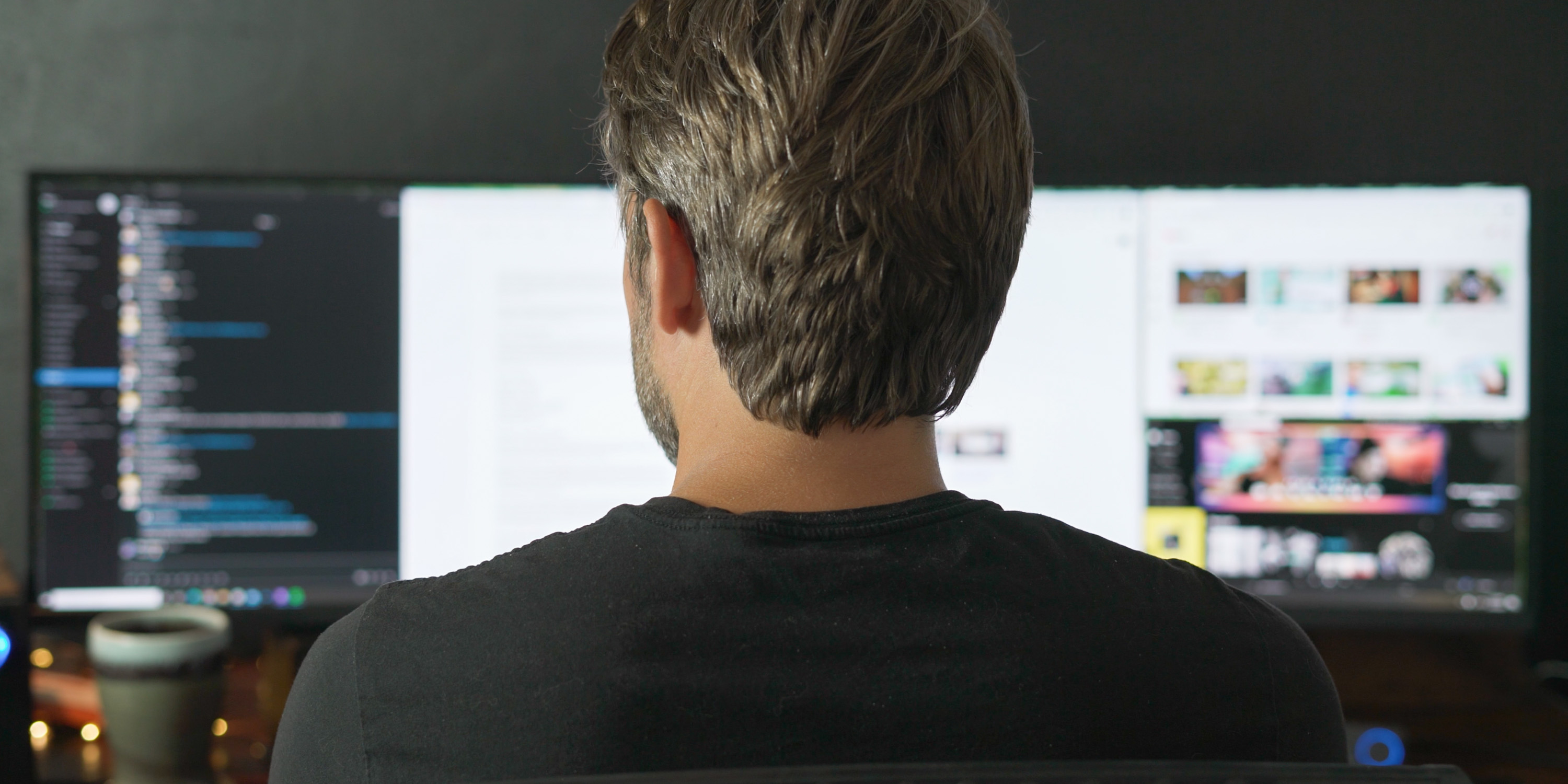 Using the Dark Mattery 49-inch monitor for productivity