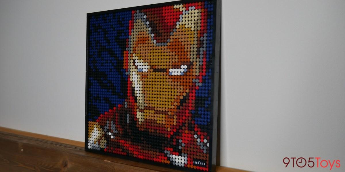 LEGO Art Iron Man