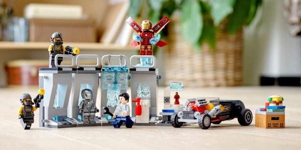 LEGO Iron Man Armory
