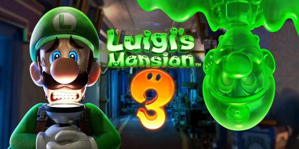 Luigi's Mansion best Black Friday game deals