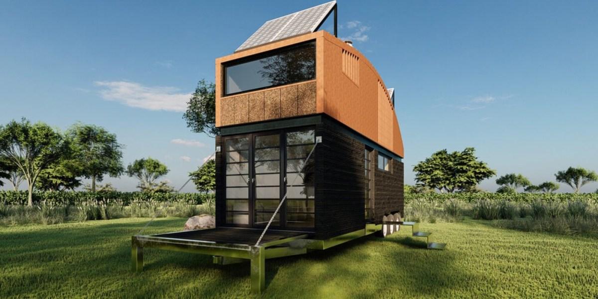 Solar-powered tiny house