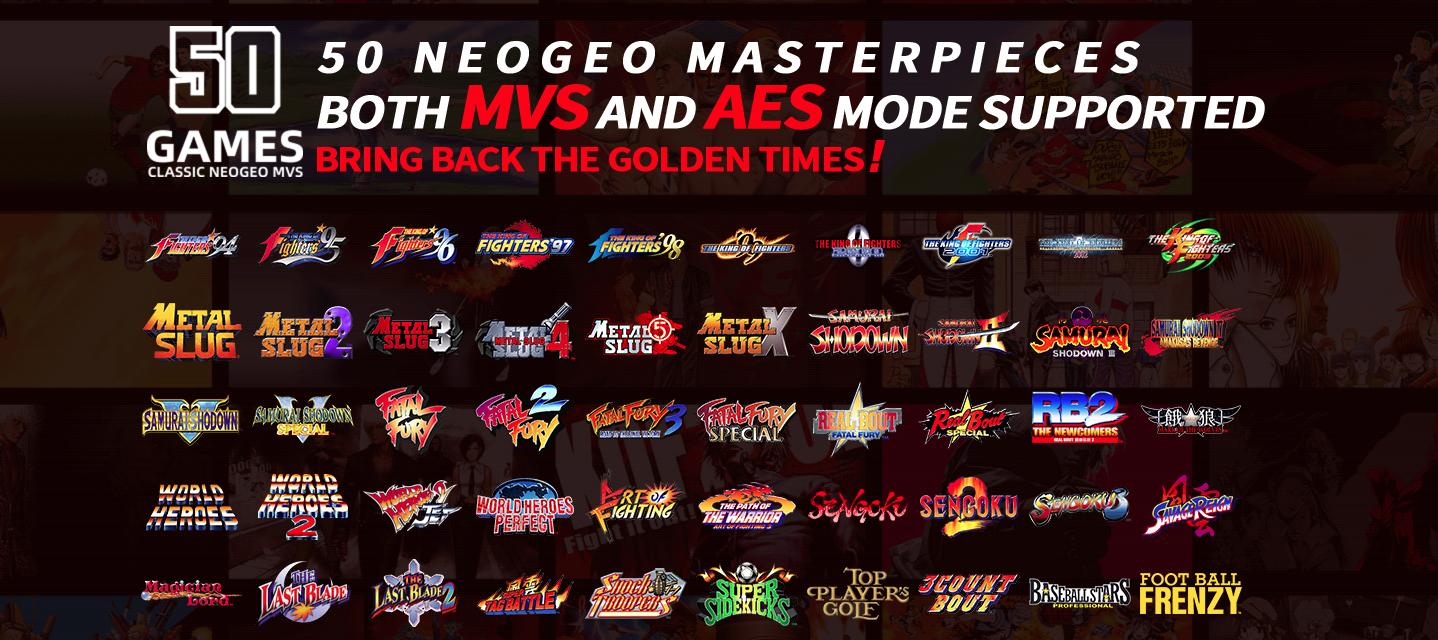 Neo Geo MVSX home arcade machine games