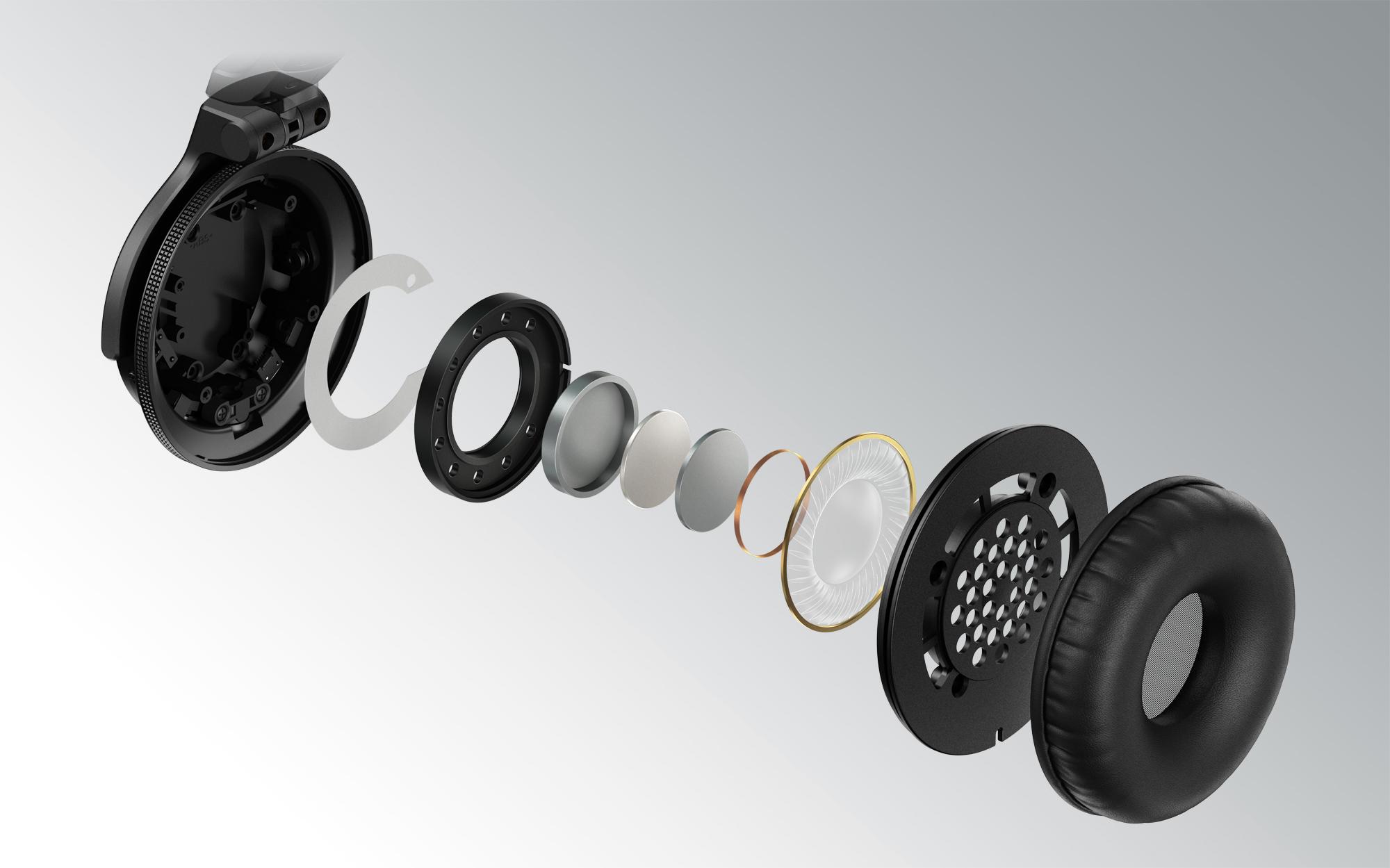 New HDJ-CUE1 Pioneer DJ headphones