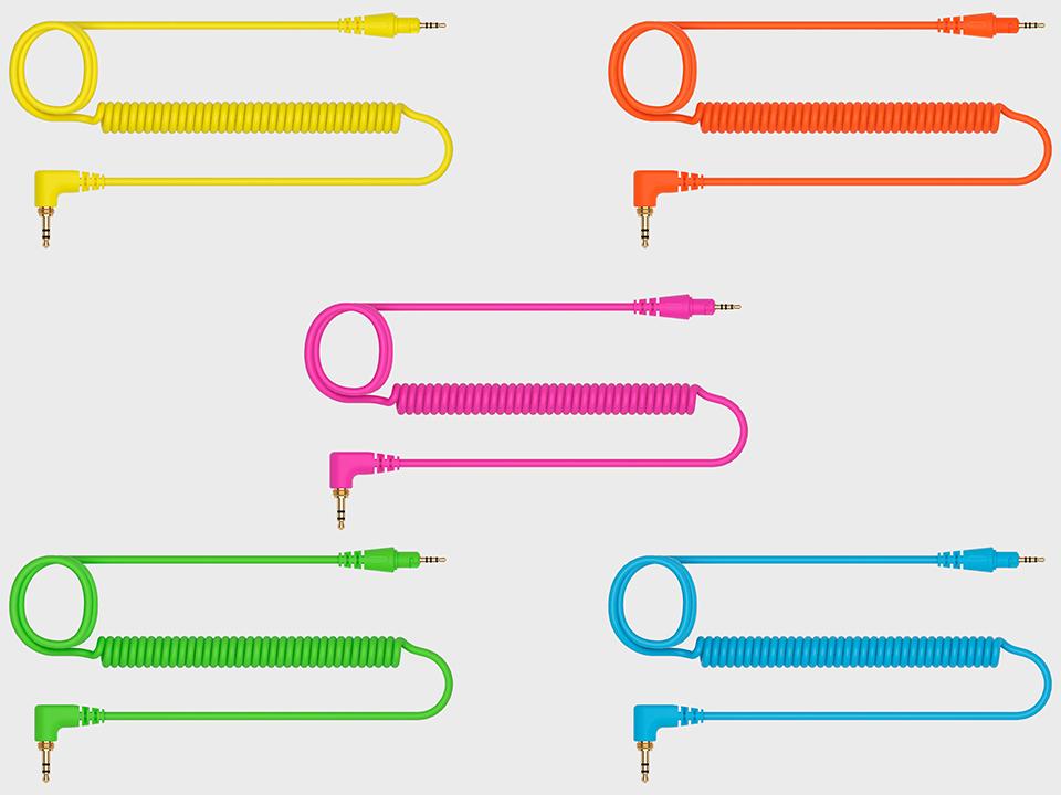 DJ headphones Accessory Pack cables