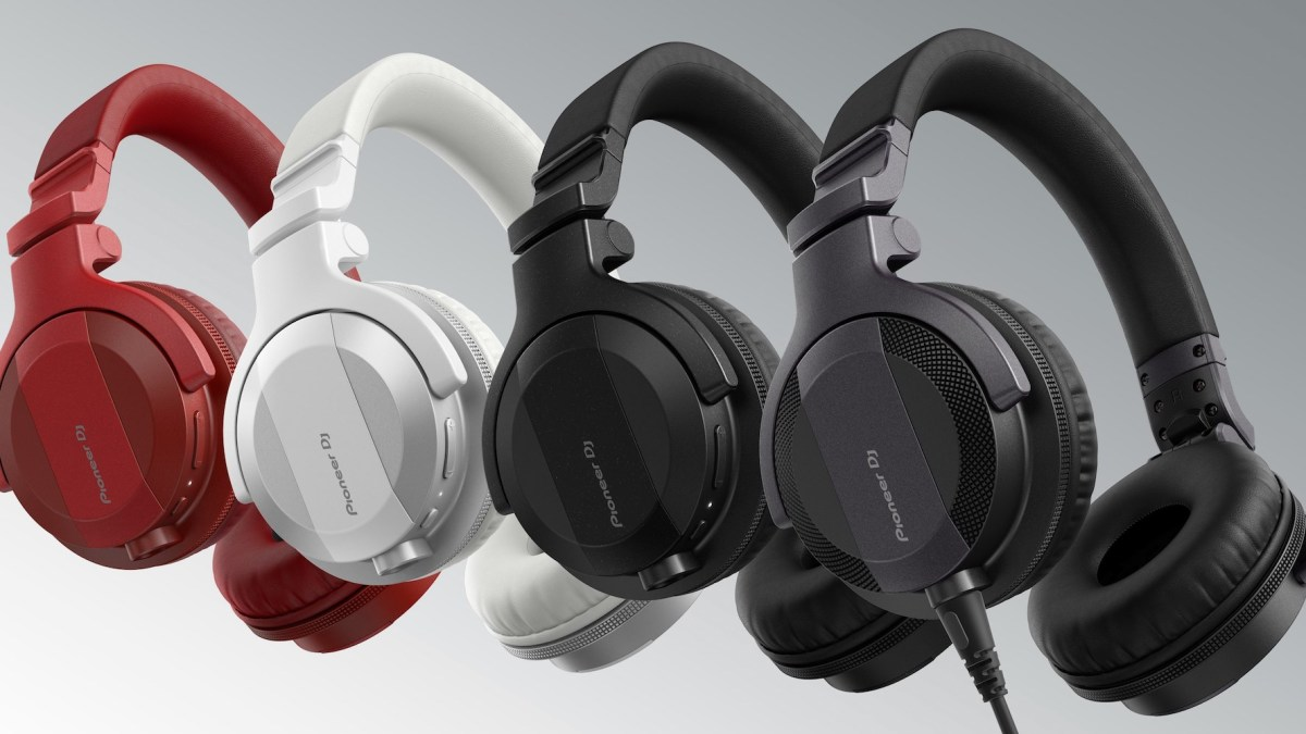 Pioneer DJ headphones New