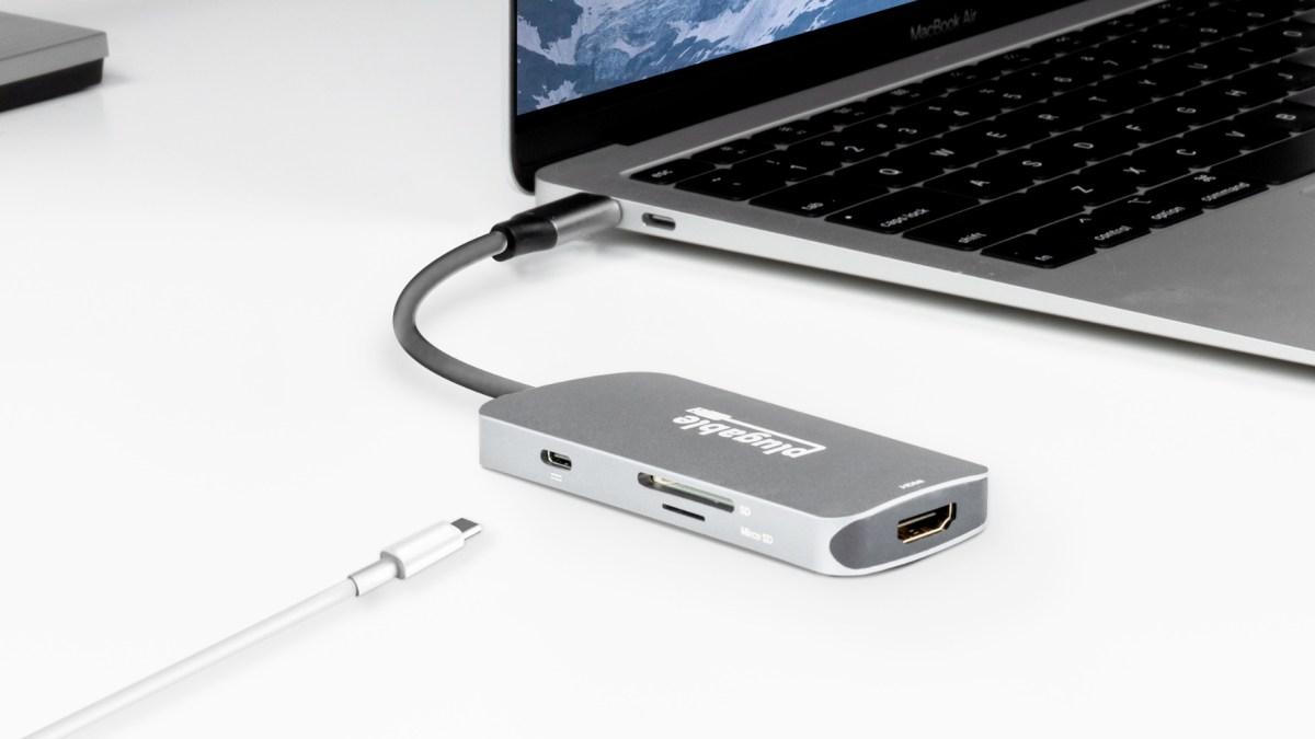 Plugable USB-C Hub