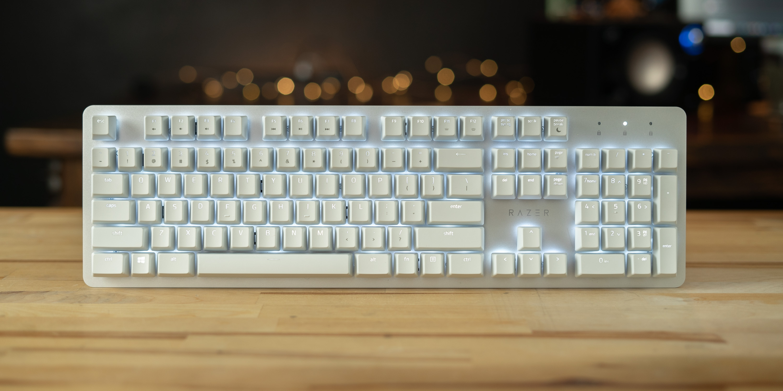 Razer Pro Type on desk