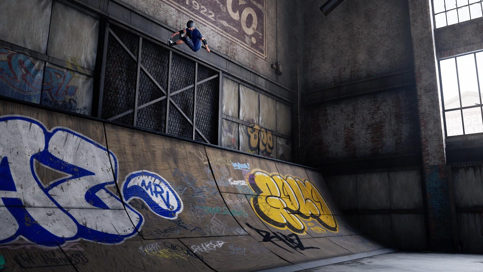 Tony Hawk Warehouse demo screenshots
