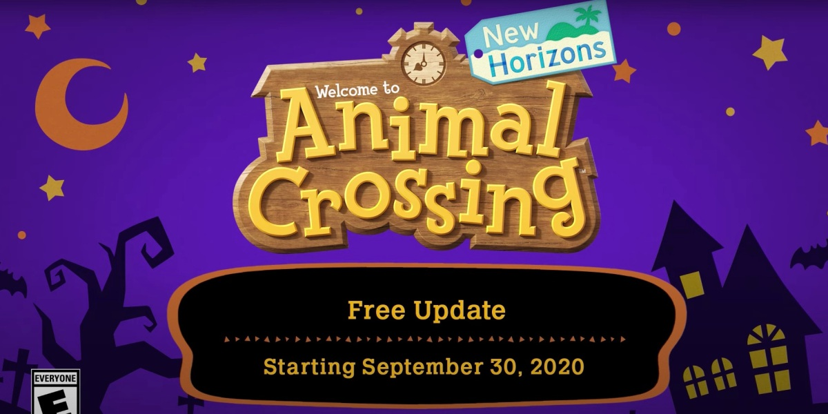 Animal Crossing Halloween update