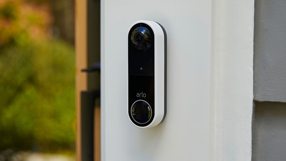 arlo wire free video doorbell