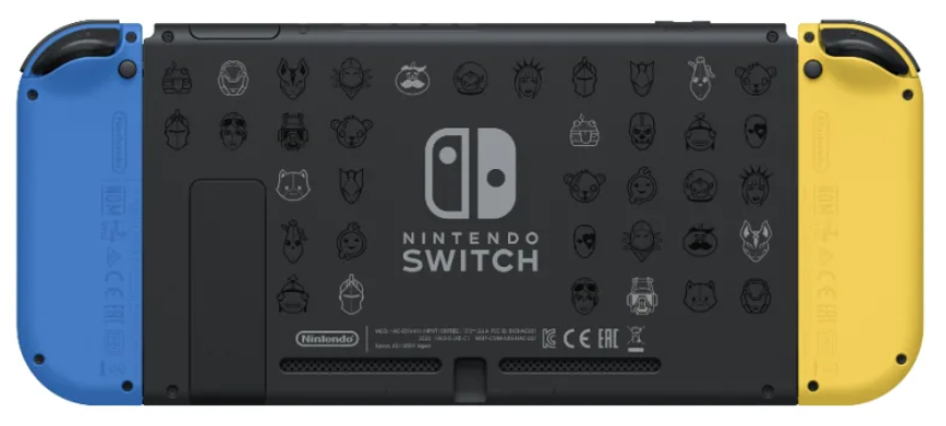 Fortnite Nintendo Switch bundle back