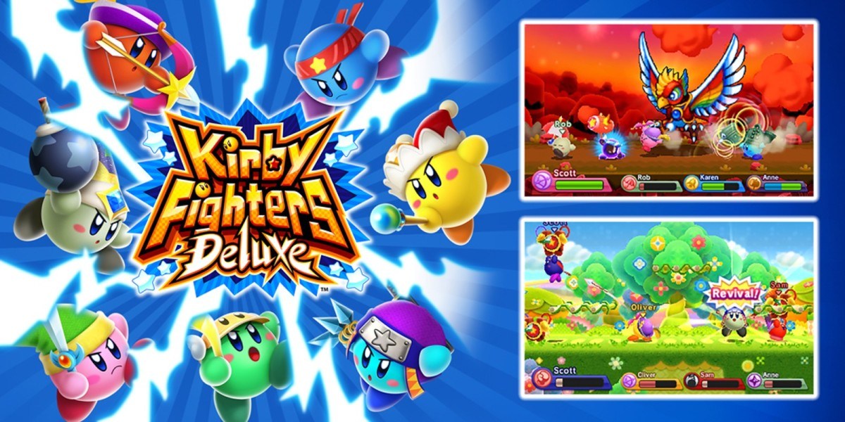 New Kirby game — Kirby Fighters 2