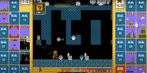 New Mario battle royale