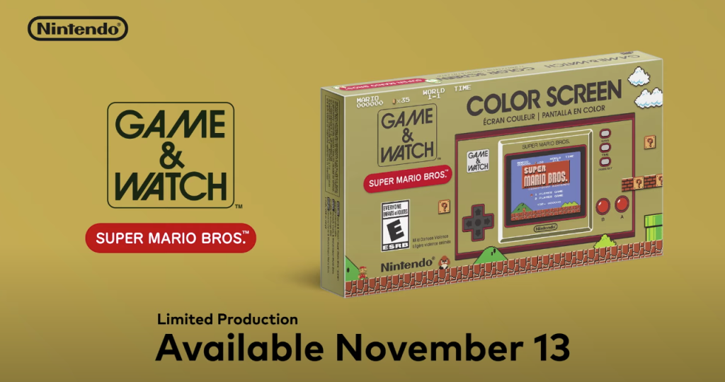 New Mario battle royale-Game & Watch handheld