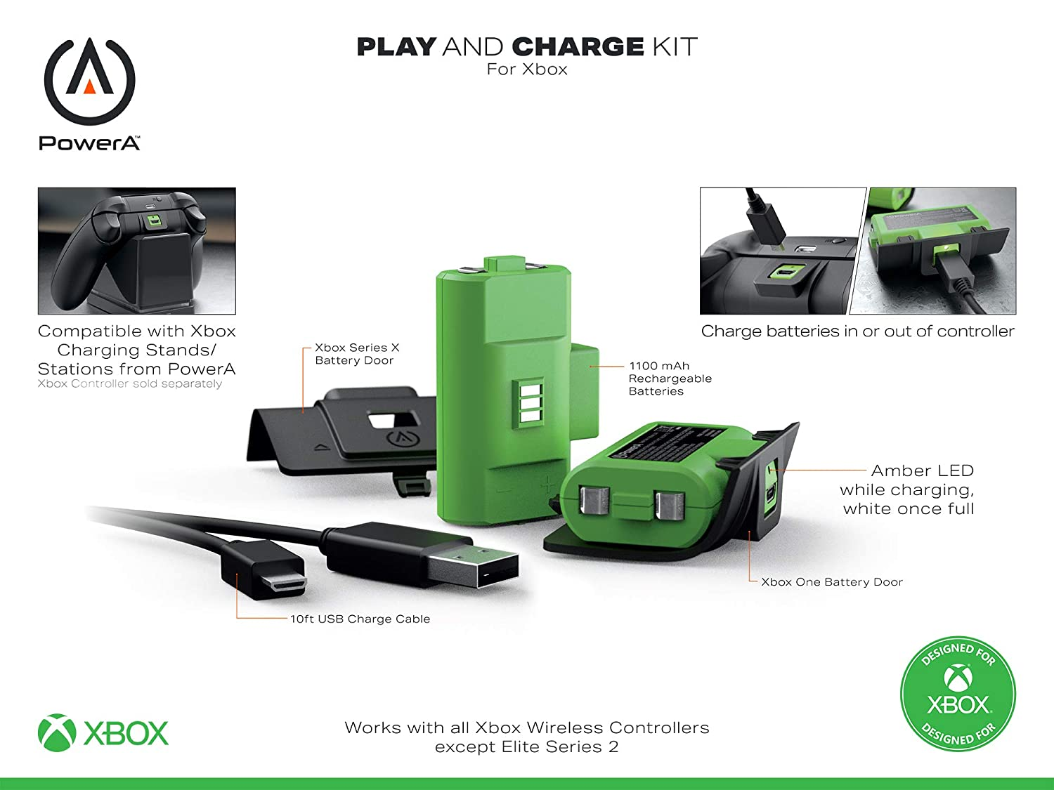 PowerA Xbox Series X charging gear now live