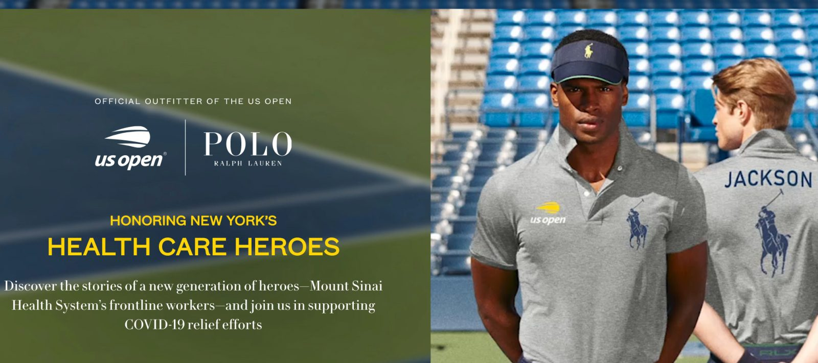 Ralph Lauren's new collection with US Open supports front-line - 9to5Toys