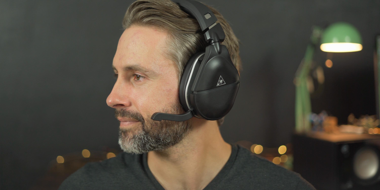 Wearing the Stealth 700 Gen 2 headset
