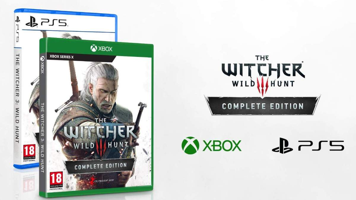 The Witcher 3 on PS5, Xbox Series X, and PC