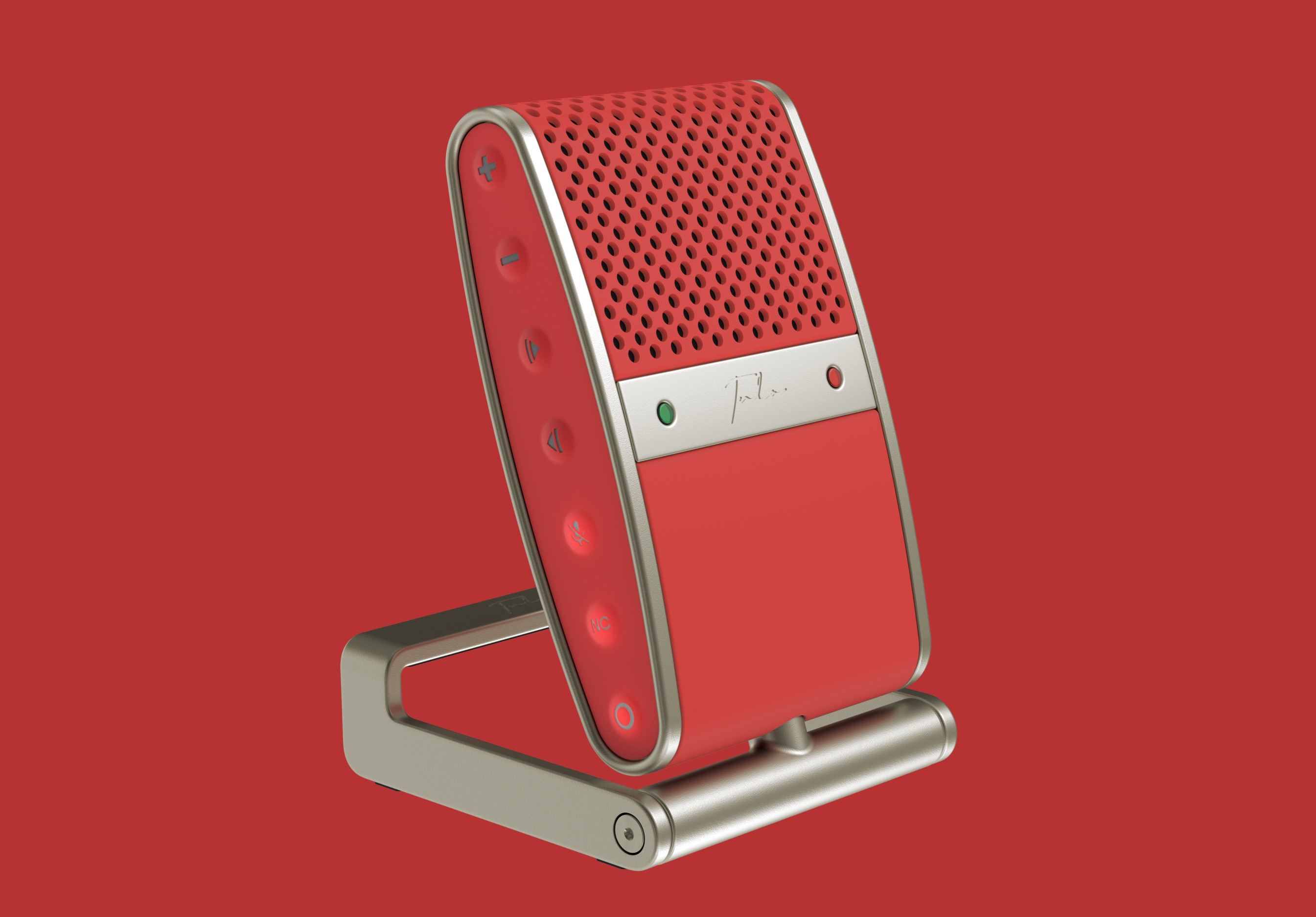 Tula Mic in red