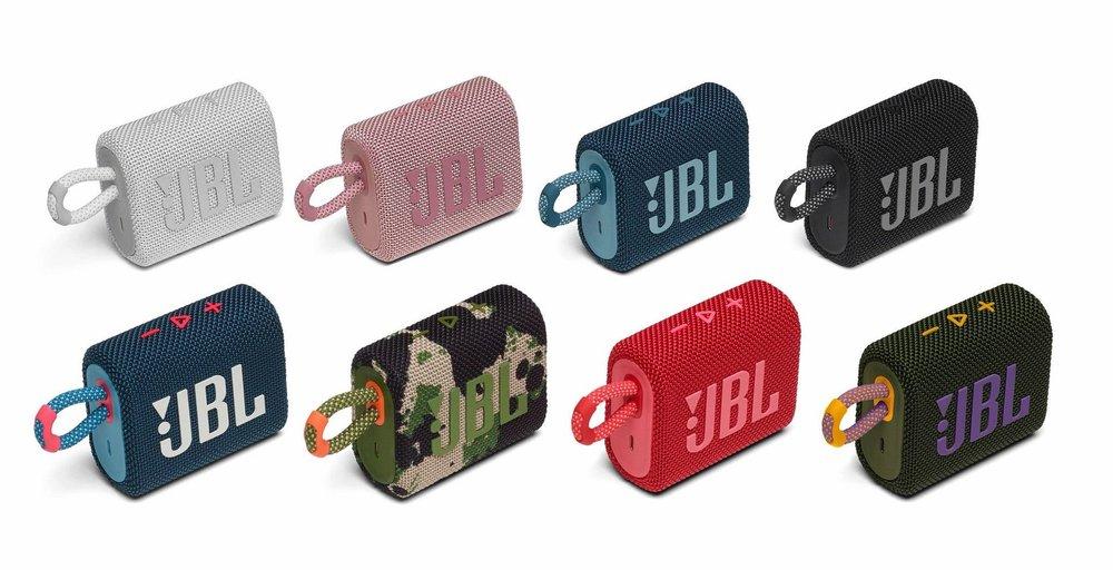 New JBL speakers Go 3