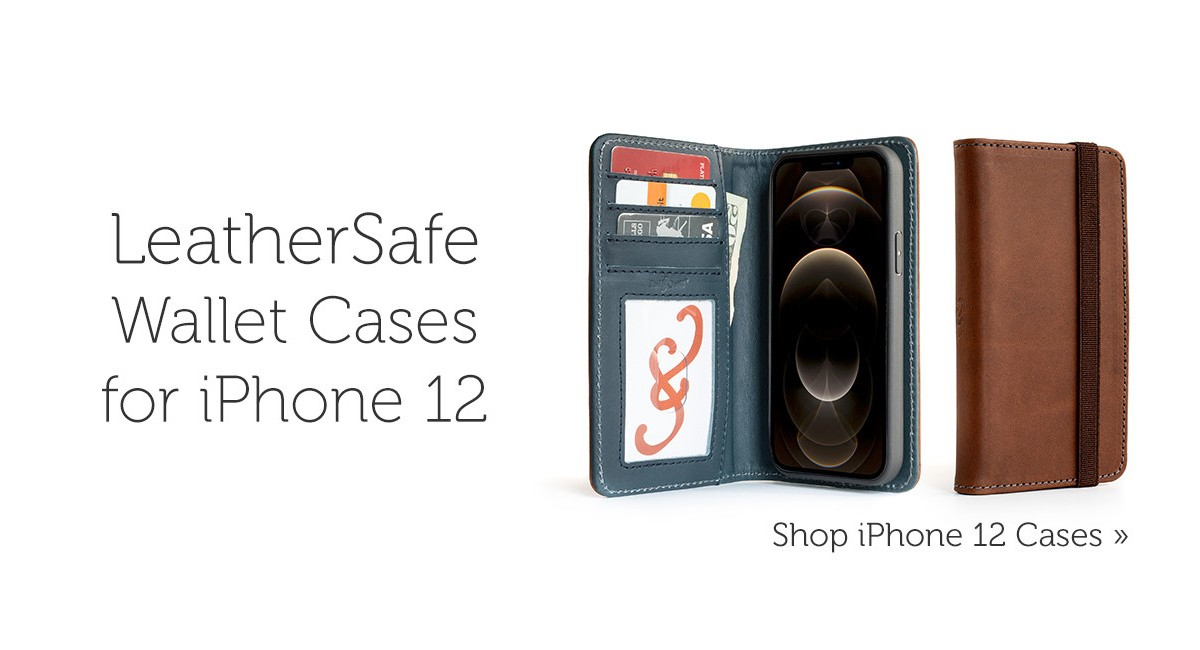 leather iPhone 12 case deals from Pad & Quill