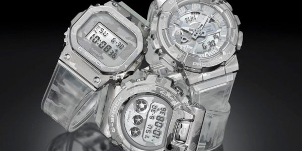 translucent G-SHOCK