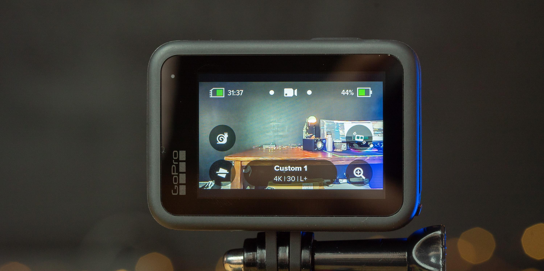 Touchscreen on the GoPro HERO9 Black