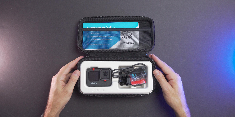 Reusable case on the GoPro Hero9 Black