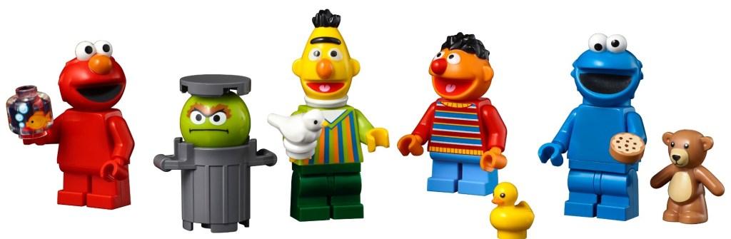 LEGO Sesame Street minifigures