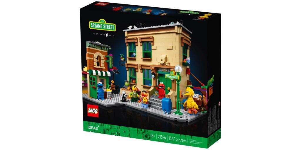 LEGO Sesame Street box