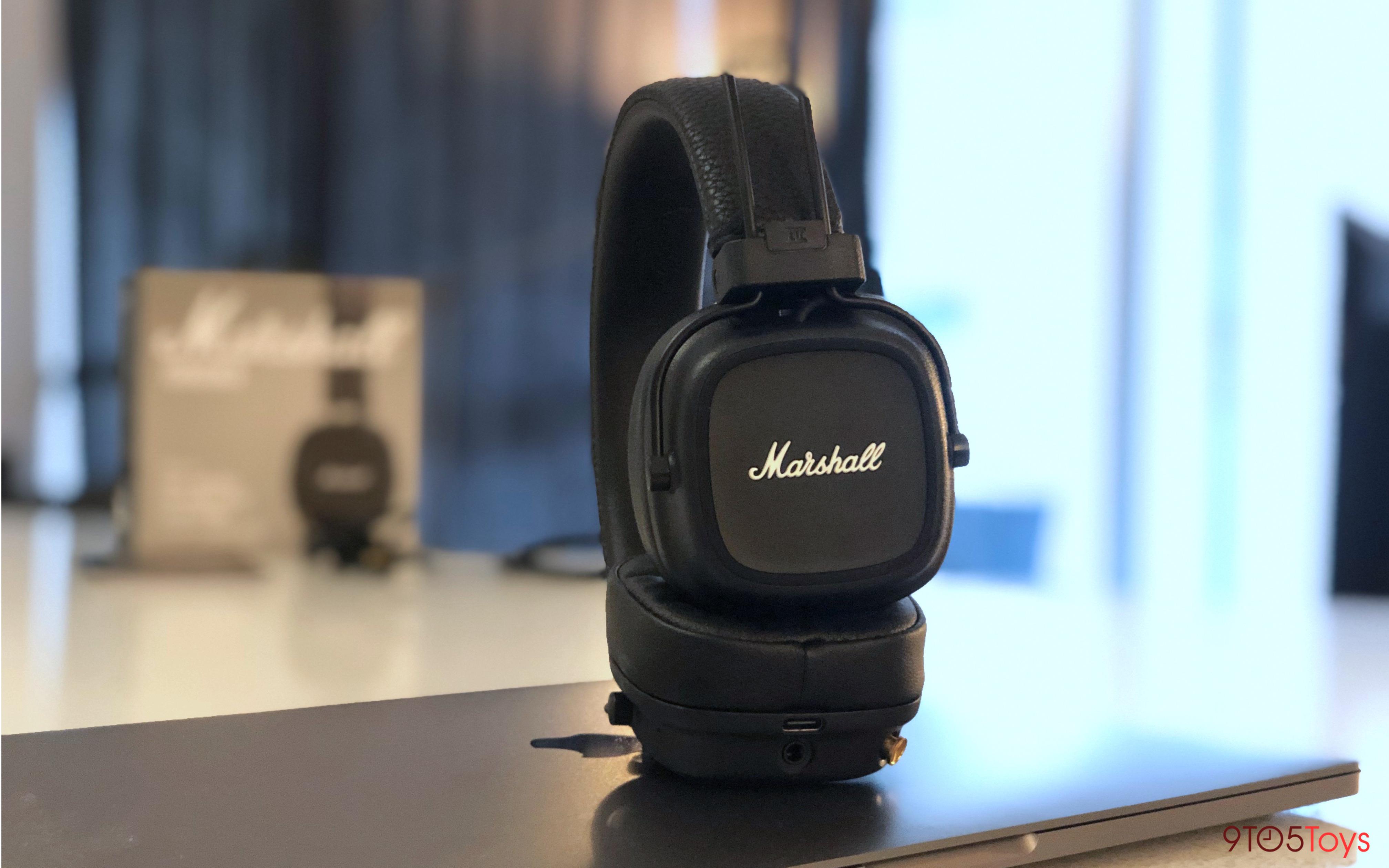 Marshal Major IV Headphones Wireless charging