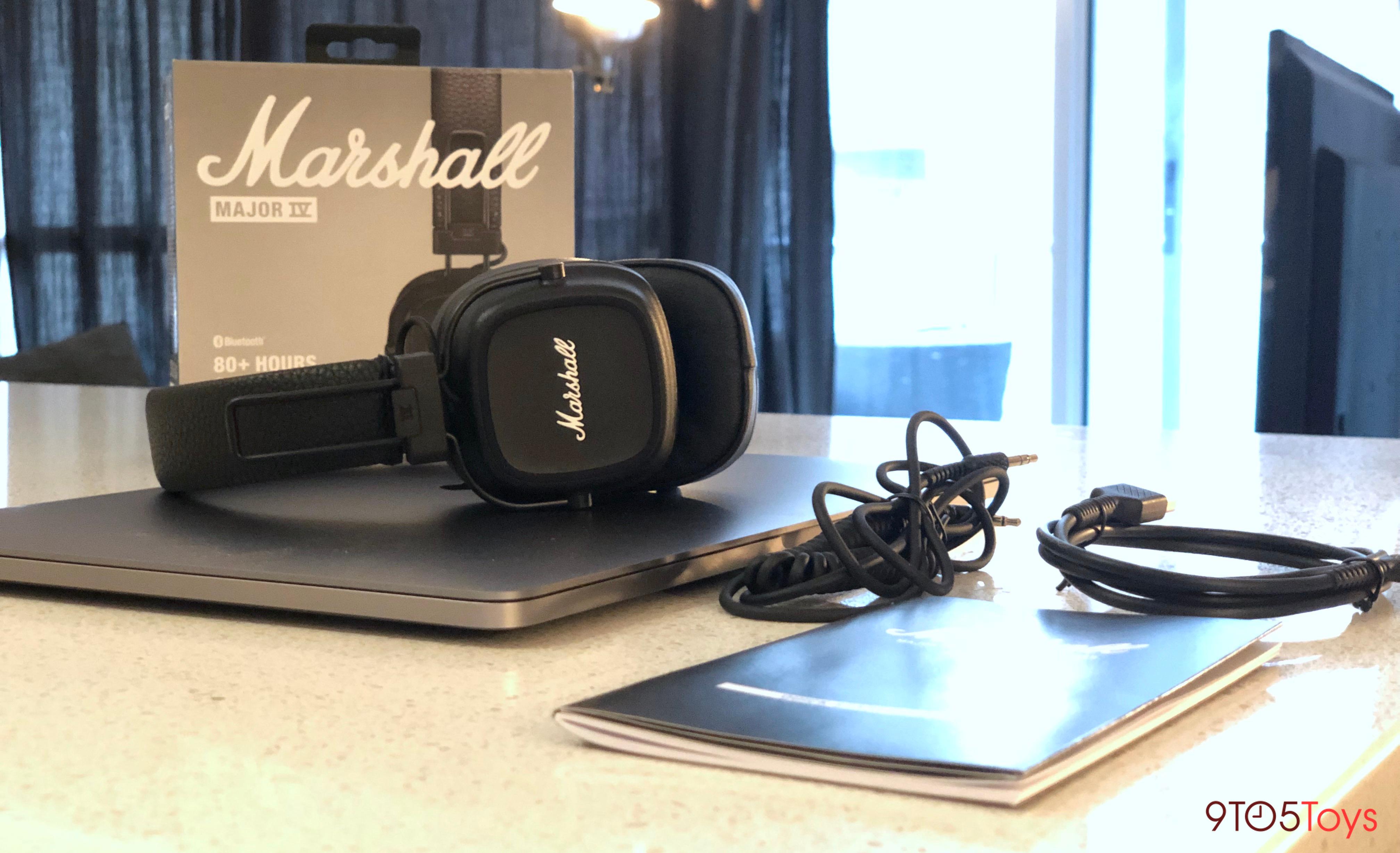 Marshal Major IV Headphones Wireless charging, pairing, more
