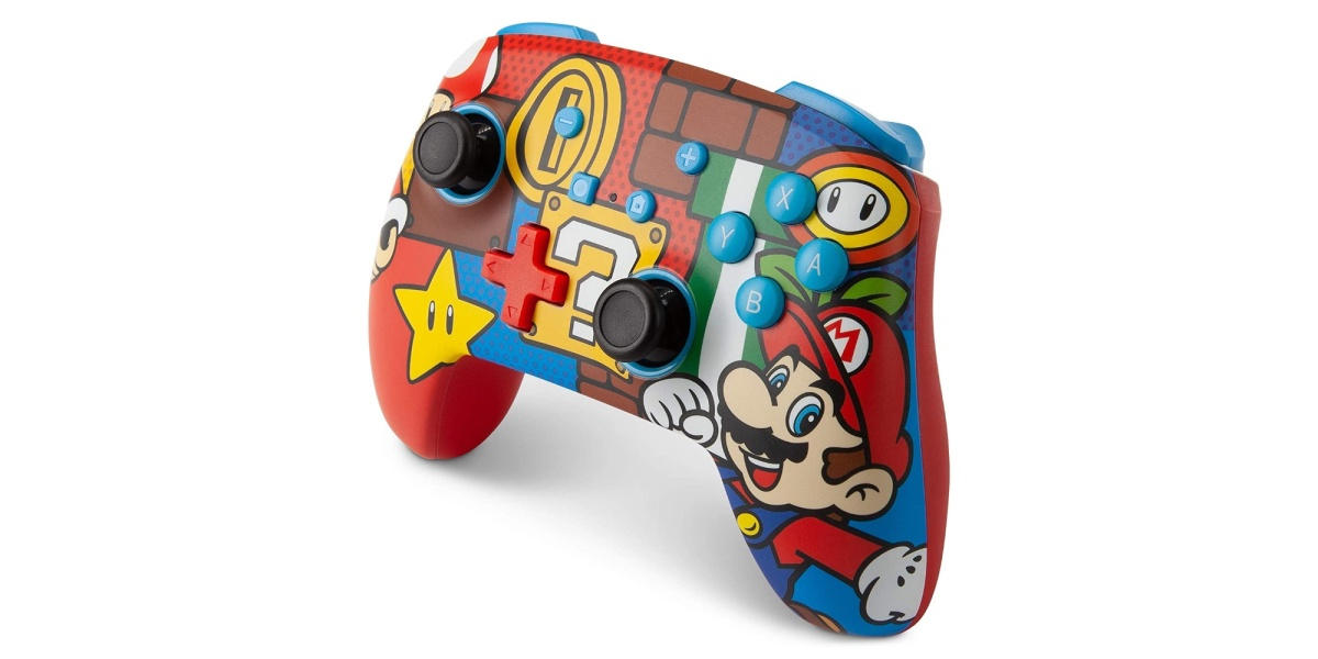 PowerA Mario Switch Controllers