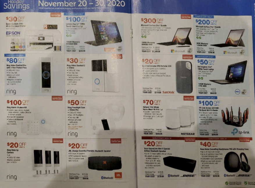 Costco Black Friday Ad 2020: Save on Apple, Nest, more ...