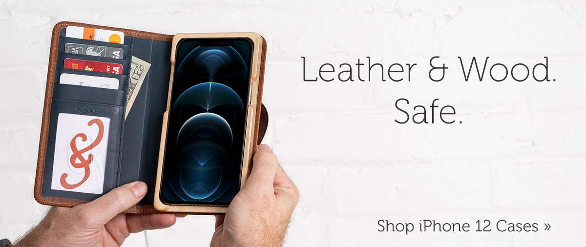 leather iPhone 12 case deals