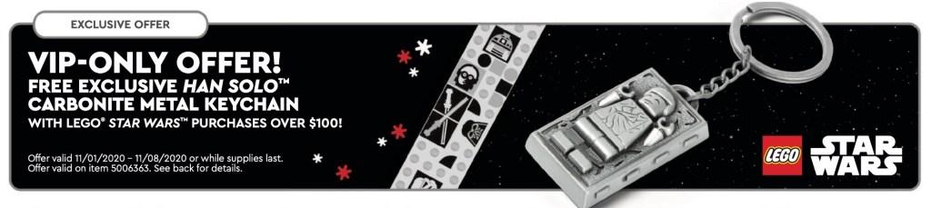 lego Han Solo keychain