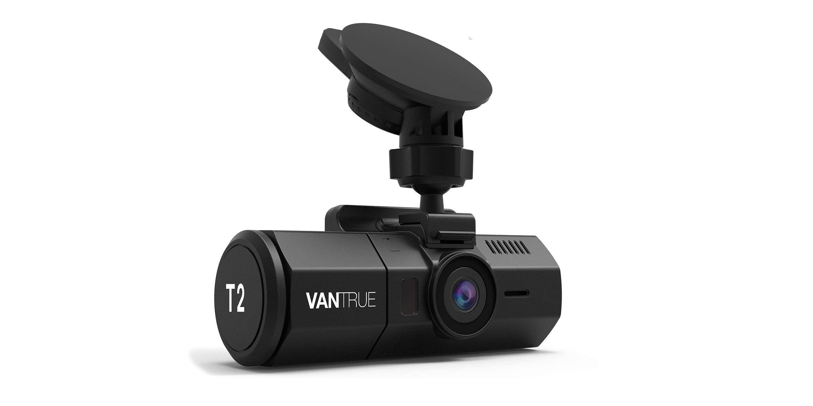 Outfit your ride with a Vantrue dash cam, now up to 35% off from $52