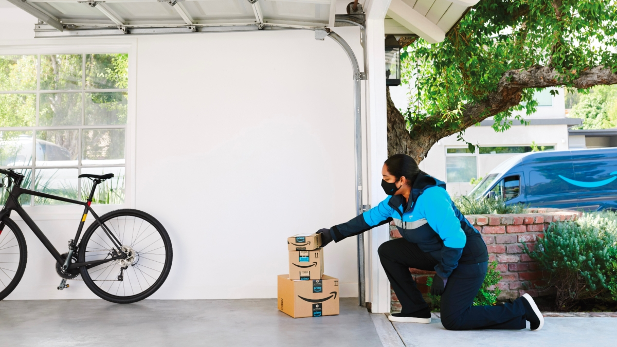 Amazon In-Garage Delivery