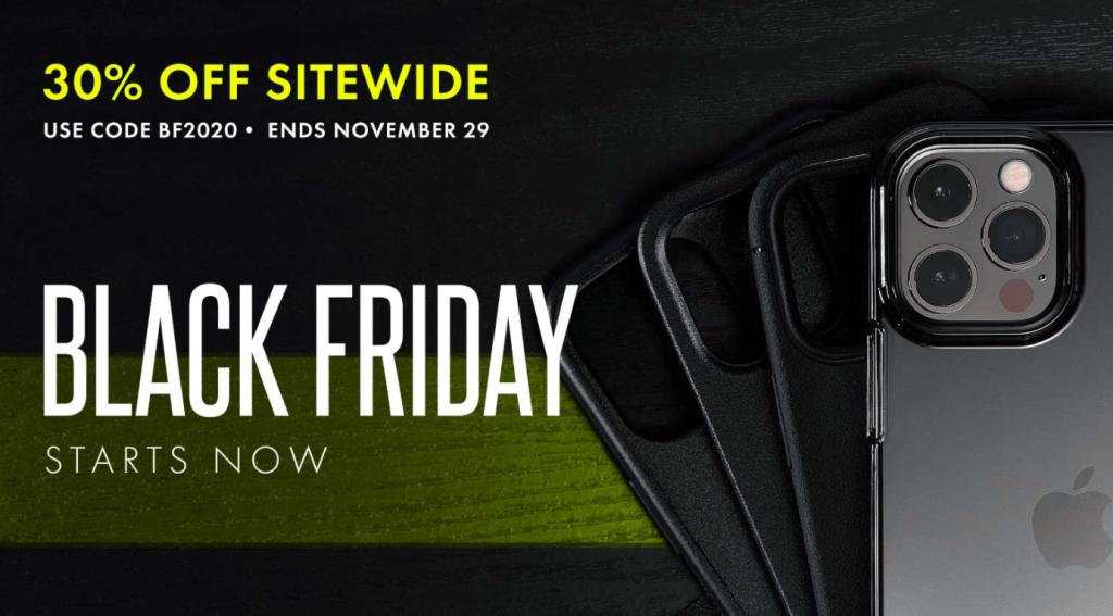 Caudabe Black Friday sale iPhone 12 cases
