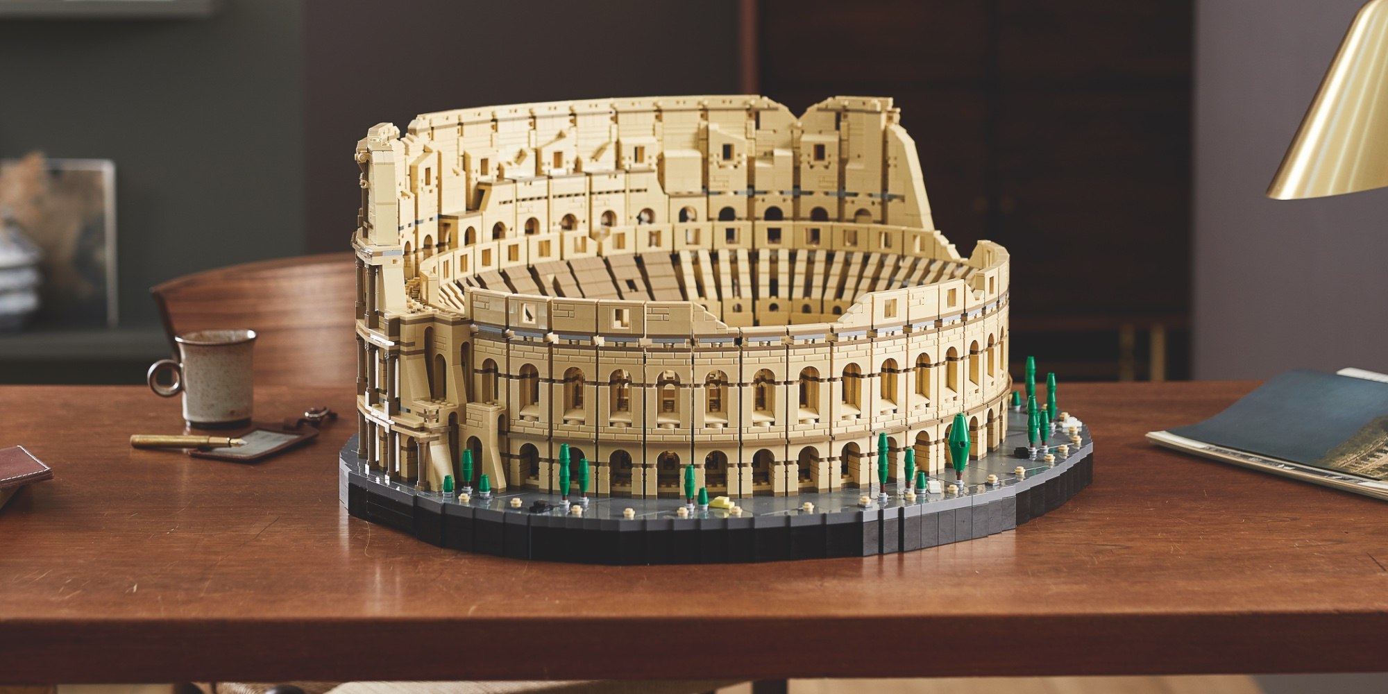 LEGO Colosseum debuts as largest kit to date with 9,000 ...