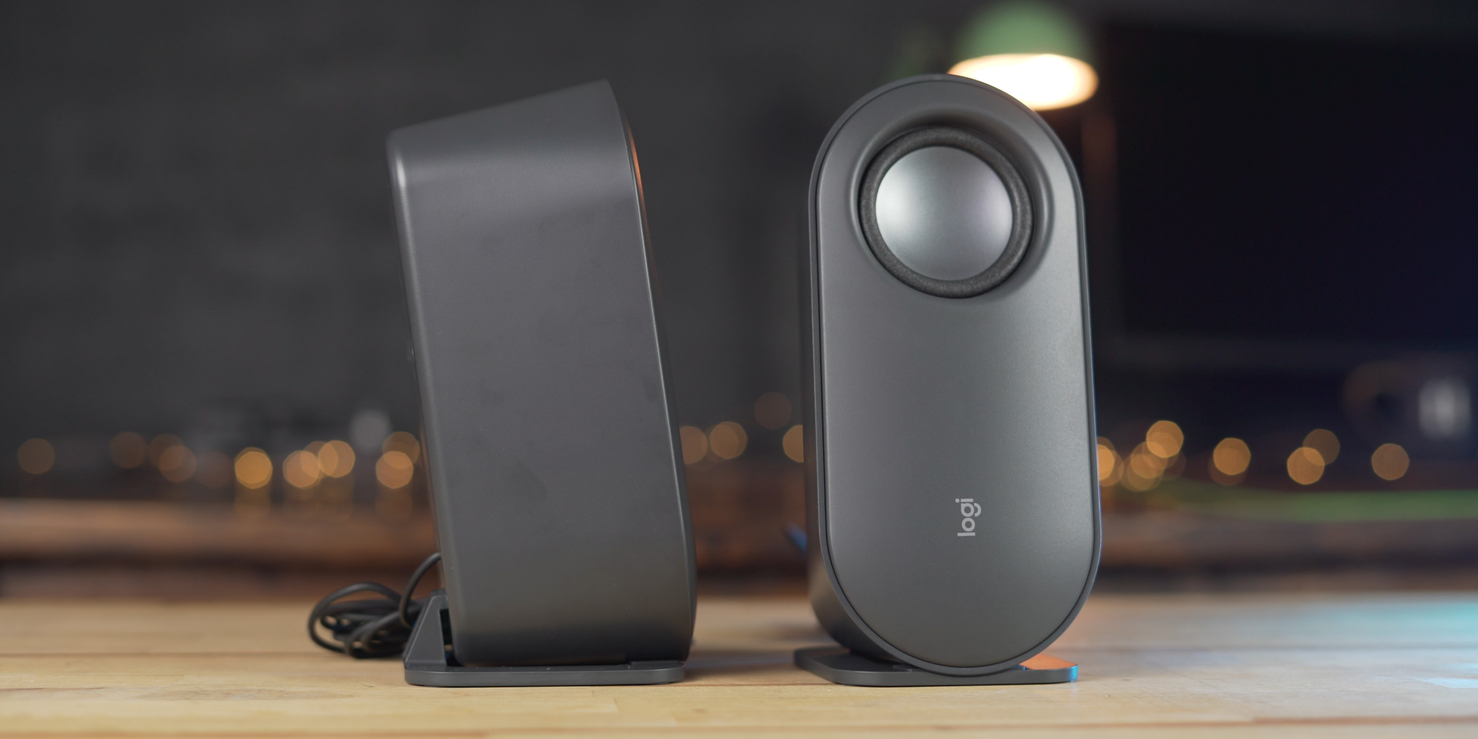 The satellite speakers are crisp and clear while the subwoofer adds plenty of low end