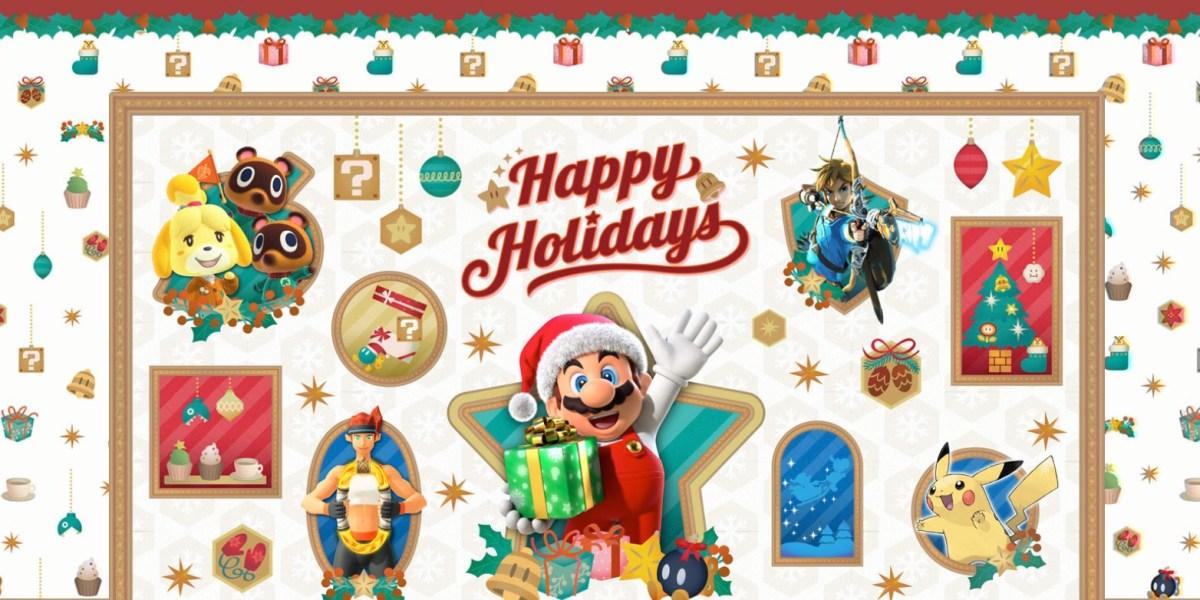 Nintendo Holiday Gift Guide hero