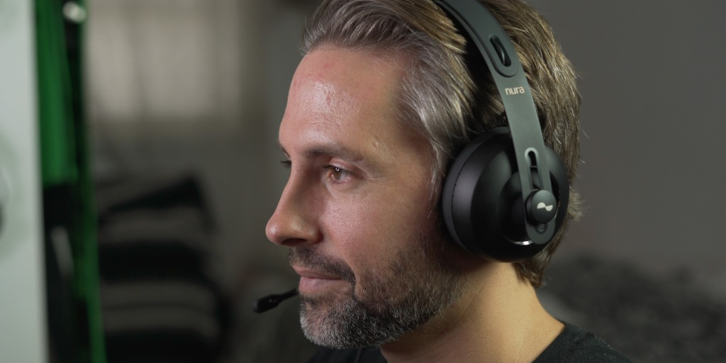 The Nuraphone Gaming mic sounds pretty good in use