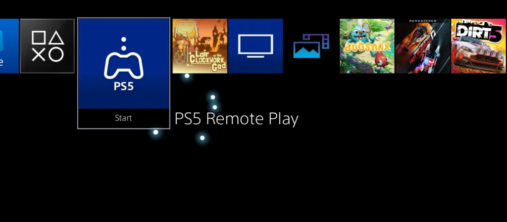 PS5 Remote Play app