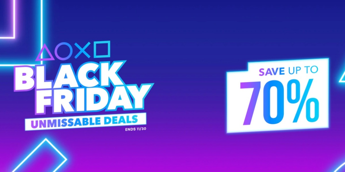 PlayStation Black Friday game sale